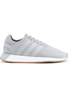 Adidas Originals Woman N-5923 Suede-trimmed Stretch-knit Sneakers Gray