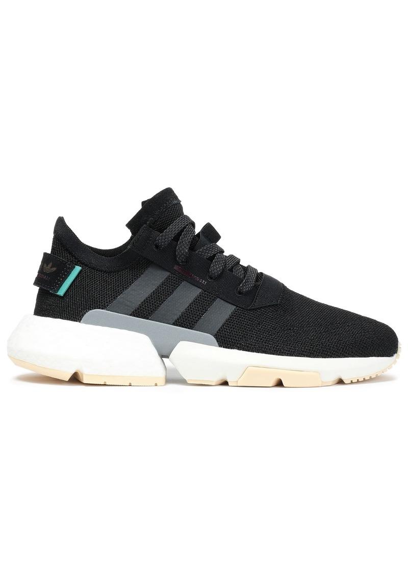 Adidas Originals Woman Pod-s3.1 Stretch-knit Sneakers Black