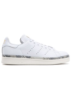 Adidas Originals Woman Stan Smith New Bold Perforated Leather Sneakers White