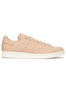 Adidas Originals Woman Stan Smith Textured-leather Sneakers Sand