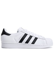 Adidas Originals Woman Superstar Paneled Leather Sneakers White