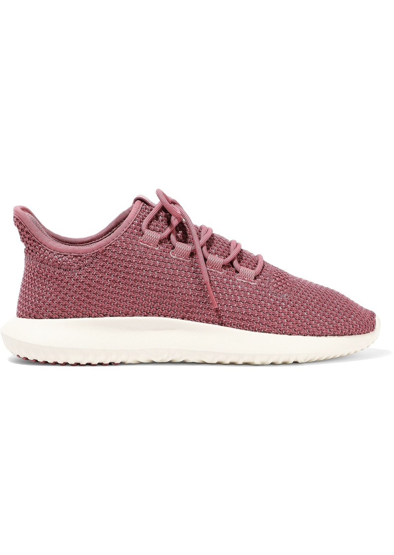 Adidas Originals Woman Tubular Shadow Knitted Sneakers Fuchsia