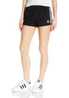adidas Originals Women's Bottoms 3 Stripe Shorts