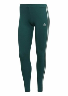 adidas Originals Women's 3 Stripes Legging Noble green