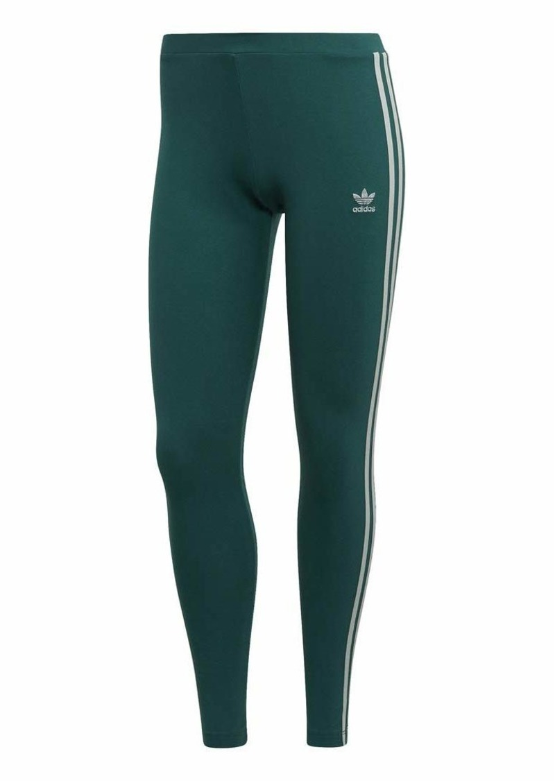 adidas Originals Women's 3 Stripes Legging Noble green