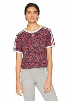 adidas Originals Women's Active Icons Cropped Tee  S