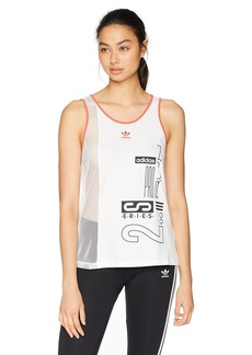 adidas Originals Women's Active Icons Tank Top  M