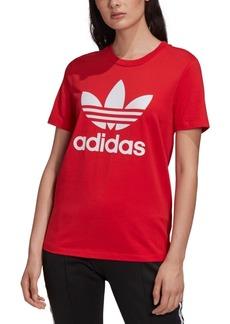 adidas Originals Women's adicolor Cotton Trefoil T-Shirt