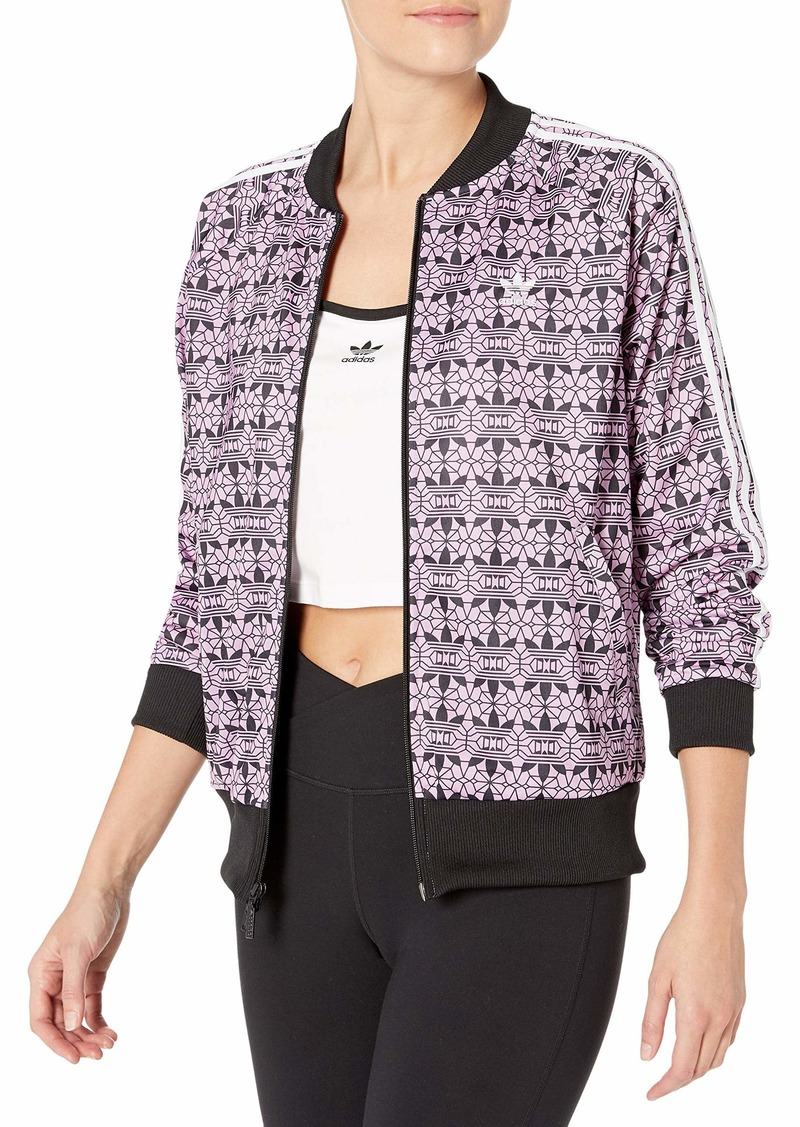 adidas Originals Women's All Over Print Track Top