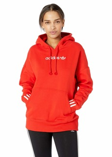 adidas Originals Women's Coeeze Hoodie Active red