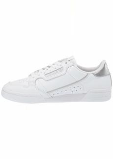 adidas Originals womens Continental 80 Sneaker White/ White/ Silver  US