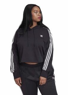 adidas Originals womens Cropped Hoodie
