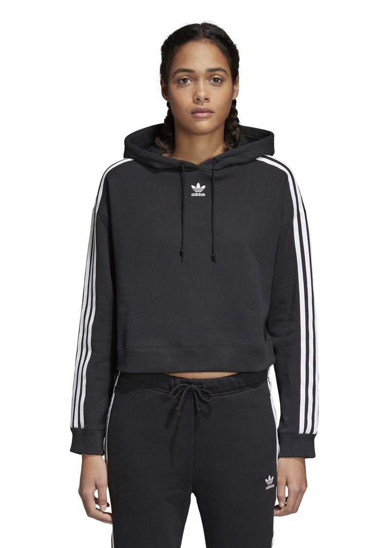 adidas Originals Women's Cropped Hoodie  L