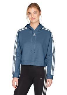 adidas Originals Women's Cropped Hoodie  S