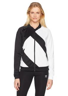 adidas Originals Women's EQT Superstar Track Jacket  XL