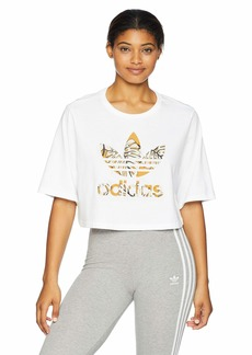 adidas Originals Women's Farm Cropped Tee  2XS