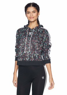 adidas Originals Women's Fashion League All Over Print Hooded Sweater  S