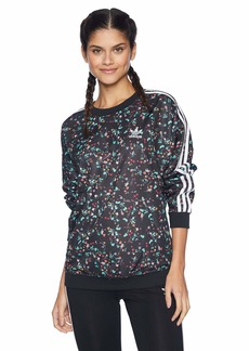 adidas Originals Women's Fashion League All Over Print Sweater  XS