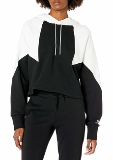 adidas Originals Women's Large Logo Crop Hoodie  S