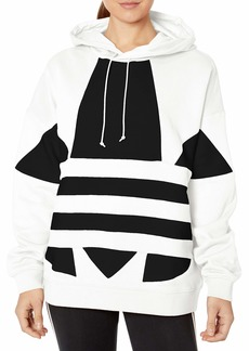 adidas Originals Women's Large Logo Hoodie Sweatshirt  XL
