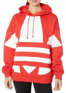 adidas Originals Women's Large Logo Hoodie Sweatshirt  S