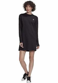 adidas Originals Women's Long Sleeve Lace Dress