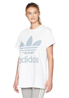 adidas Originals Women's Originals Big Trefoil Logo Tee  S