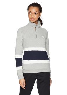 adidas Originals Women's Originals Halfzip Sweater  XS
