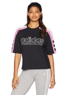 adidas Originals Women's Racing Aa-43 Cropped Tee  XL
