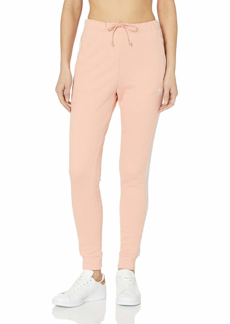 adidas Originals Women's Regular Cuffed Track Pants dust Pink