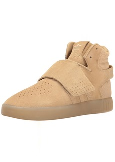 adidas Originals Women's Shoes   Tubular Invader Strap Fashion Sneakers Khaki Linen S ()