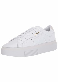 adidas Originals Women's Sleek Super Sneaker Crystal White/Black  M US