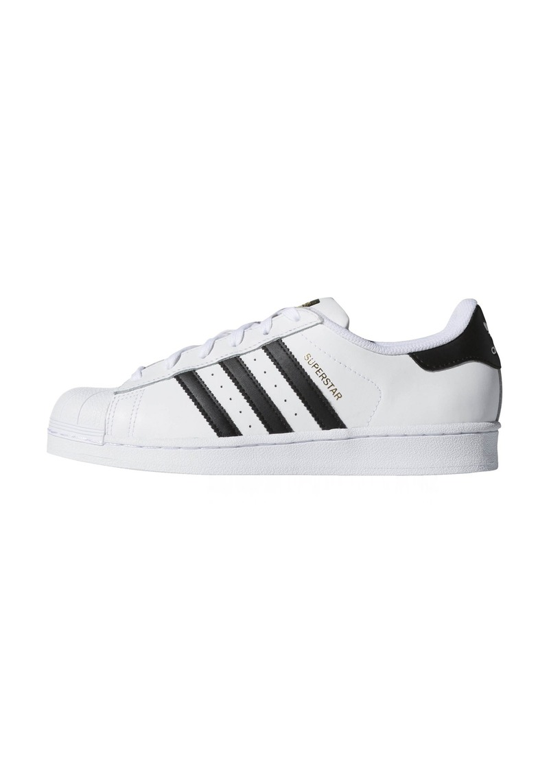 adidas Originals Women's Superstar Shoe Black/White (()