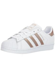 adidas Originals Women's Superstar Shoe Running Cyber Metallic/White  M US