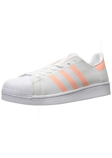 adidas Originals Women's Superstar Shoes Sneakers Sun Glow/White ()