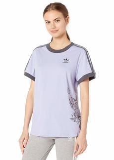 adidas Originals Women's T-Shirt dust Purple