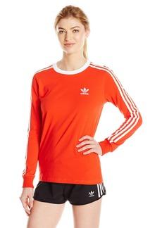adidas Originals Women's Tops 3 Stripes Long Sleeve Tee