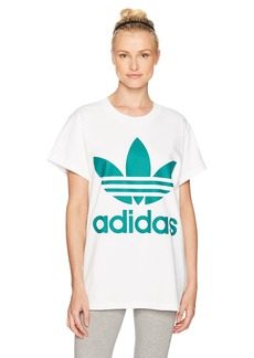 adidas Originals Women's Tops Big Logo Trefoil Tee