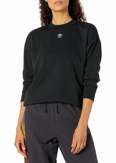 adidas Originals womens Trefoil Essentials Sweatshirt
