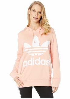 adidas Originals Women's Trefoil Hoodie dust Pink