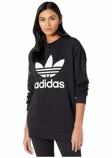adidas Originals Women's Trefoil Lace Sweatshirt