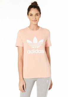 adidas Originals Women's Trefoil Tees dust Pink