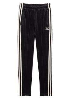 adidas Originals Zebra Velour Track Pants (Big Girls)