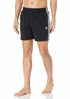 adidas Originalsmens3-Stripes Swim Shorts