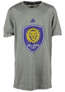 adidas Orlando City Sc Primary Logo Climalite T-Shirt, Big Boys (8-20)