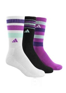 adidas outdoor ClimaLite® Retro II Socks - 3-Pack, Quarter Crew (For Women)