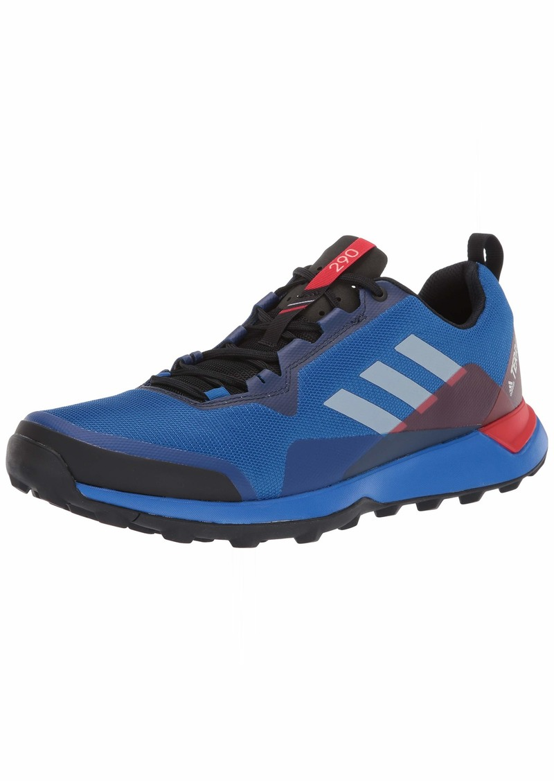 adidas outdoor Men's Terrex CMTK Trail Running Shoe Blue Beauty/Grey ONE/Active RED  D US