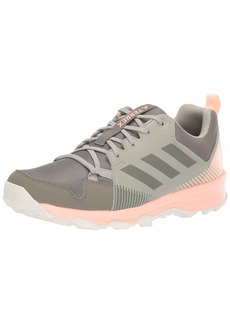 adidas outdoor Women's Terrex Tracerocker Trail Running Shoe Trace Cargo/Clear Orange  M US