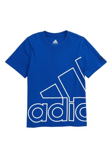 adidas Outline BOS Graphic Tee (Big Boy)