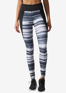 adidas Performer Climalite Oxidized Striped Leggings